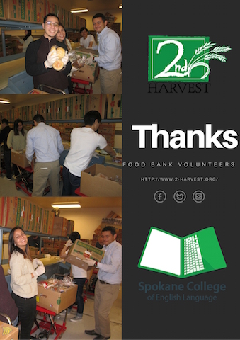 Food Bank Thanky You Poster 2